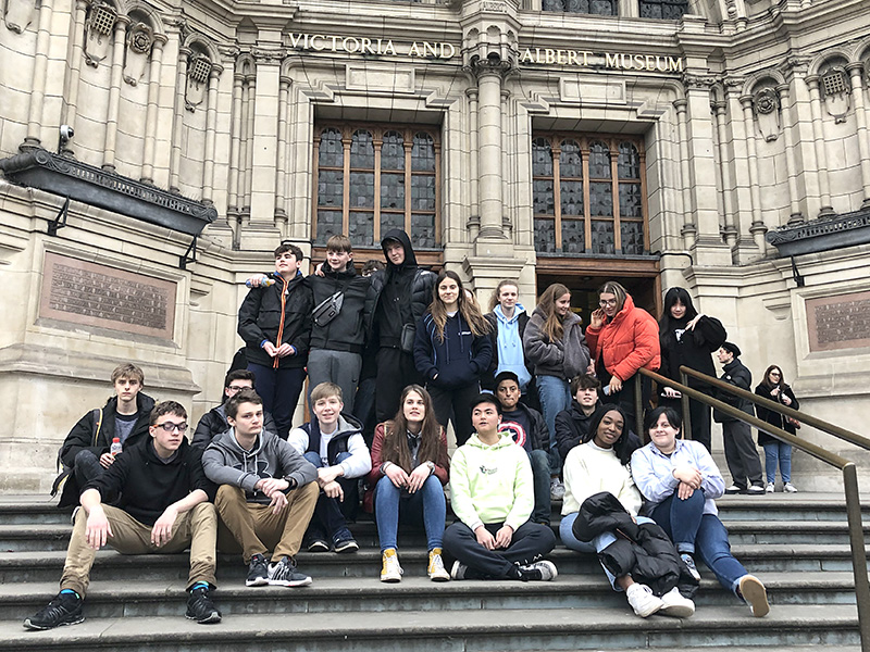 GCSE Art Trip to the London Galleries