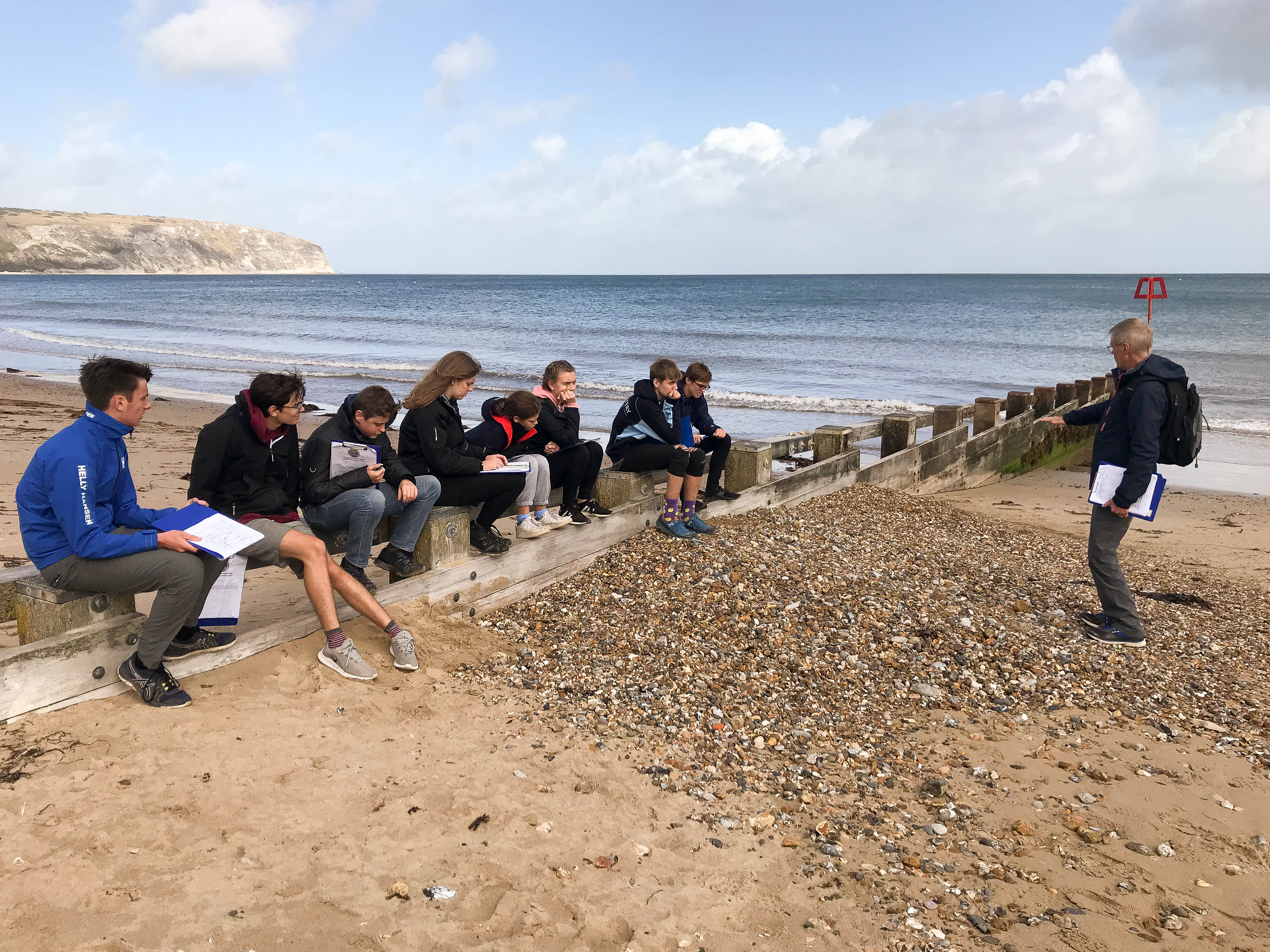 Lower 6th Geography Fieldwork Course in Dorset