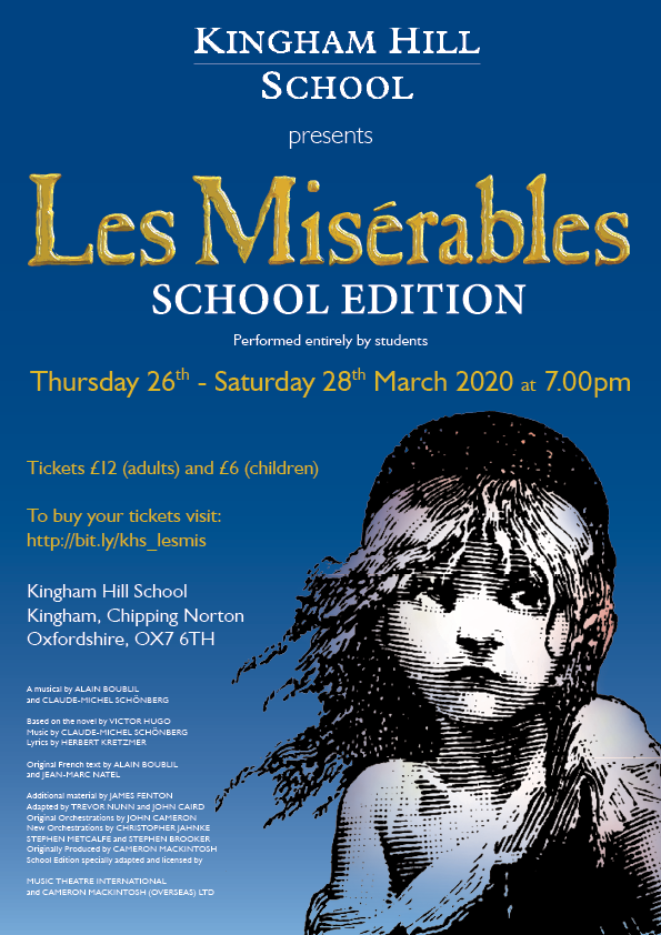 Buy Your Tickets For Les Miserables School Edition