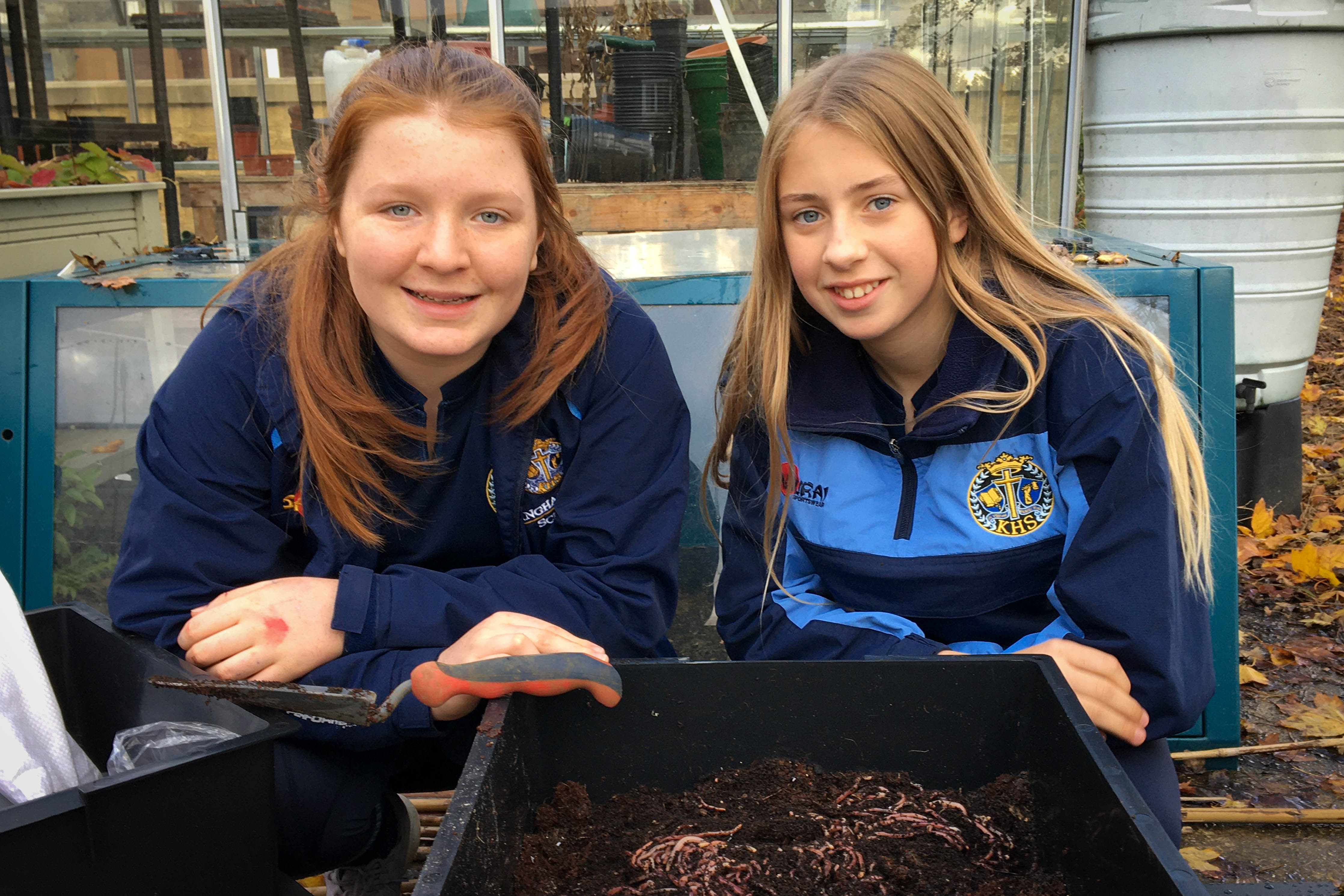 Conserve Club and Worm Composting