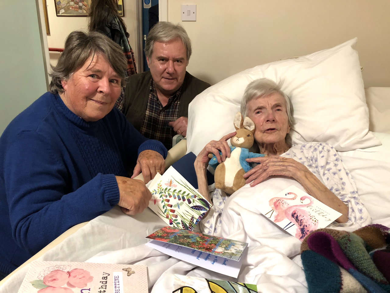 Bettine Snell, celebrations for her 100th Birthday