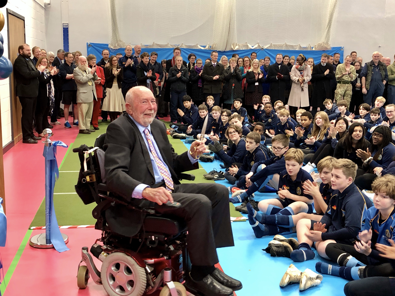 Official Opening of our New Sports Centre