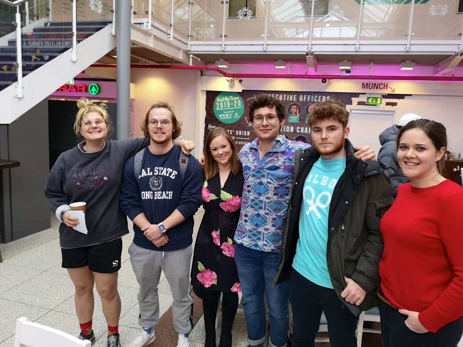 Hillians at Loughborough - a visit from KHS 5th Form