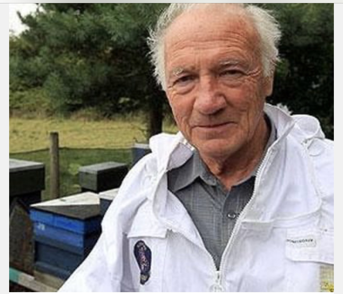 Ron Hoskins - master Beekeeper and Hillian, needs our help