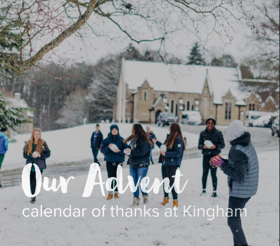 Our Advent Calendar of Thanks
