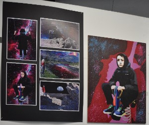 KHS pupils display artwork at exhibition