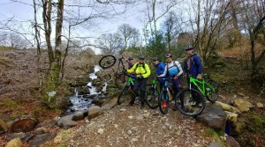 Cadets tackle mountain bike warrior weekend