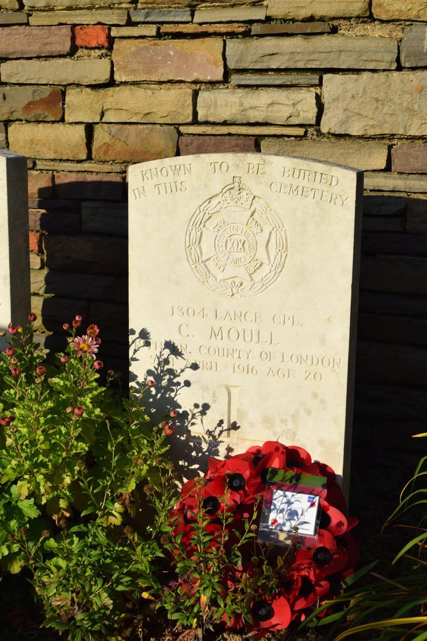 Kingham Hill Remembers...Charles Moull