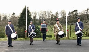 Cadets on a roll with new Corps of Drums