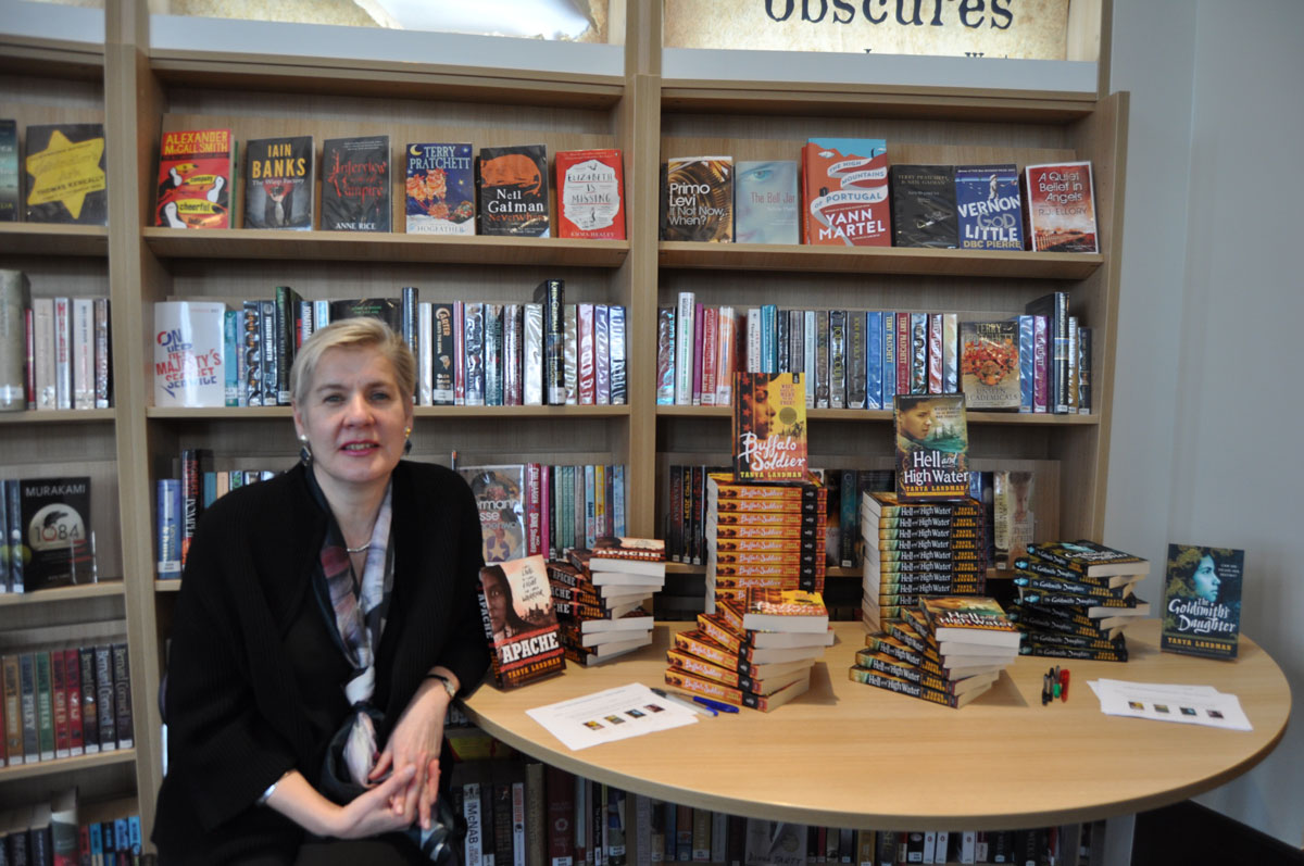 Bestselling children's author visits Kingham Hill School