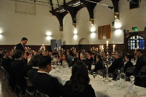Top political journalist inspires at Octagon dinner