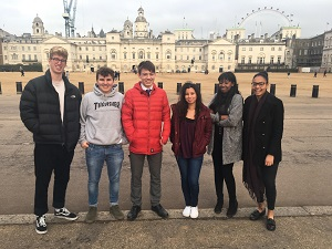 Politics pupils visit Parliament