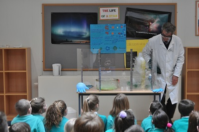 Local primary school children have a blast at Science Day