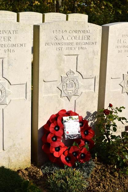 Kingham Hill remembers...Sidney Collier