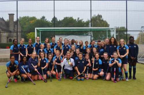 Gold medal winning GB Olympian leads hockey masterclass