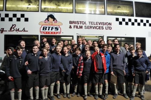 Pupils star in Netflix blockbuster, The Crown