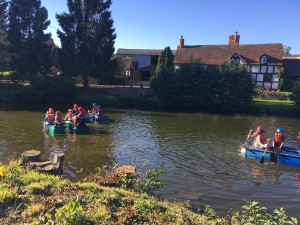 Year 7 make a splash on residential